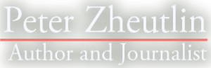 logo for Peter Zheutlin author and journalist